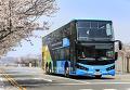[시승기]위험에 신속,안정적인 제어시스템 뽐낸 만 버스