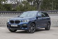 [시승기]탄탄한 기본기 BMW X3 30d ..턱없이 부족 편의장치