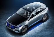 벤츠 순수 전기차 EQ 해치백 버전 2020년 판매