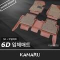 벤츠 B클래스 (W246) 카마루 6D입체매트 1+2열/트렁크