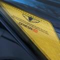 현대 제네시스 G80 스포츠 헤드램프 리플렉터 스티커