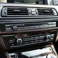 티케이-몰 BMW 5시리즈 F10 - 에어컨 오디오 컨트롤러 카본 몰딩