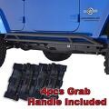 [해외]Restyling Factory 07-16 Jeep Wrangler Jk Black Textured Body Si 범퍼