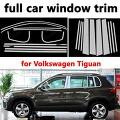 [해외]Styling full Window Trim Car Exterior Accessories for Volkswagen Tiguan Stainless Steel Decoration 크롬 스타일링