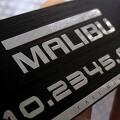 메탈맥스 임팔라 블랙 알루미늄주차번호판-HC/쉐보레/